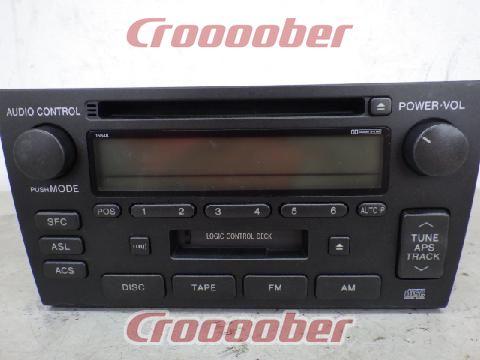 toyota cd player sec