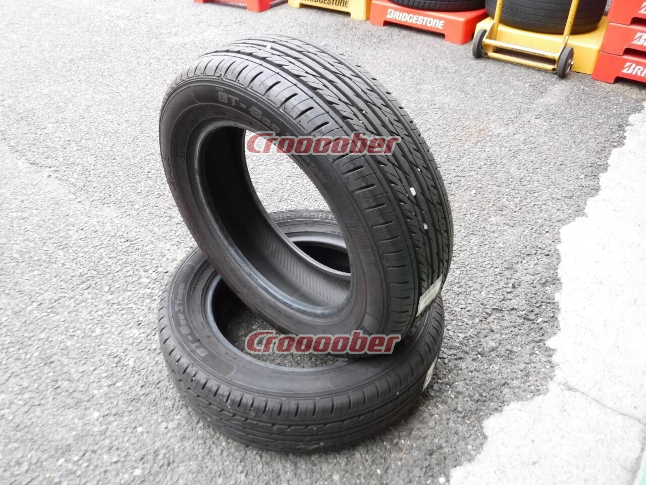 15 Inch Tires >> Set Of 2 Goodyear Gt Eco Stage 15 Inch Tire Croooober