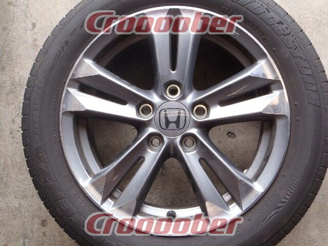 Bridgestone Potenza Re050A >> HONDA CR-Z α Black label 純正アルミホイール + BRIDGESTONE POTENZA RE050A | タイヤホイールセット 16インチタイヤホイールセットパーツの ...