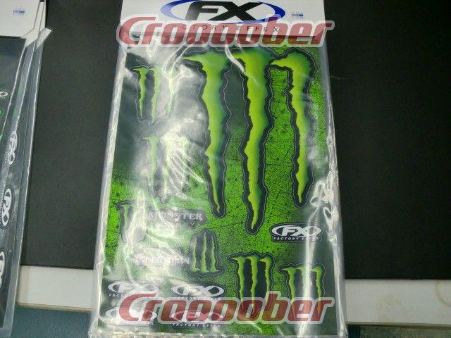 factory effex monster energy モンスターエナジー デカール 17 68022