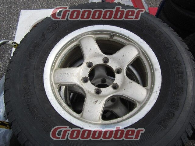 4x4 engineering bradley vx 5スポーク michelin ltx 16 rim tire