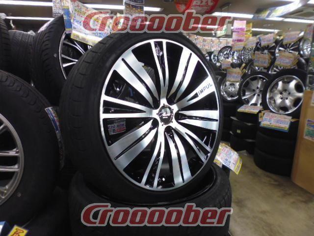 It Main Fitting Nissan Car Impul Aura Sx20 Aw 20 Rim Tire