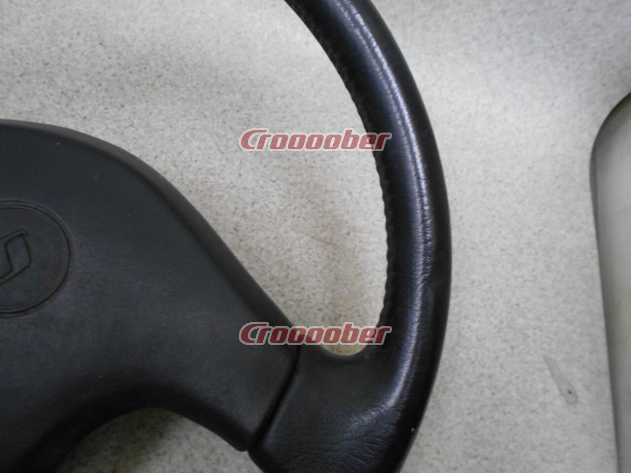 Original NISSAN Genuine Leather Steering ☆ 5/30 Price Cuts ☆ | Stearings | Croooober Japan