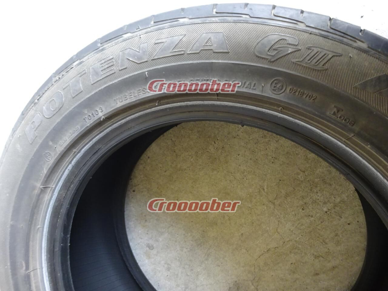 !! Was I Markdown Bridgestone GⅢ | 15 Tire"
