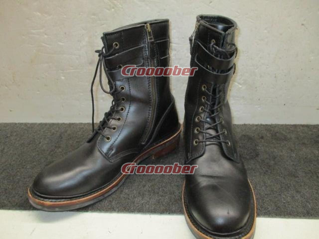 bf09faa959b48 Cedar Crest Leather Boots Size /28.0cm | Boots & Shoes Accessories |  Croooober