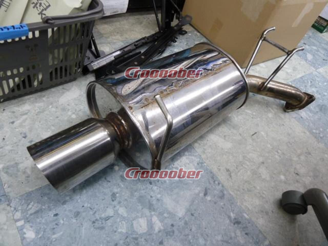 Mx Muffler 1013152e Ec Regnum 4wd Previous Period H9 January