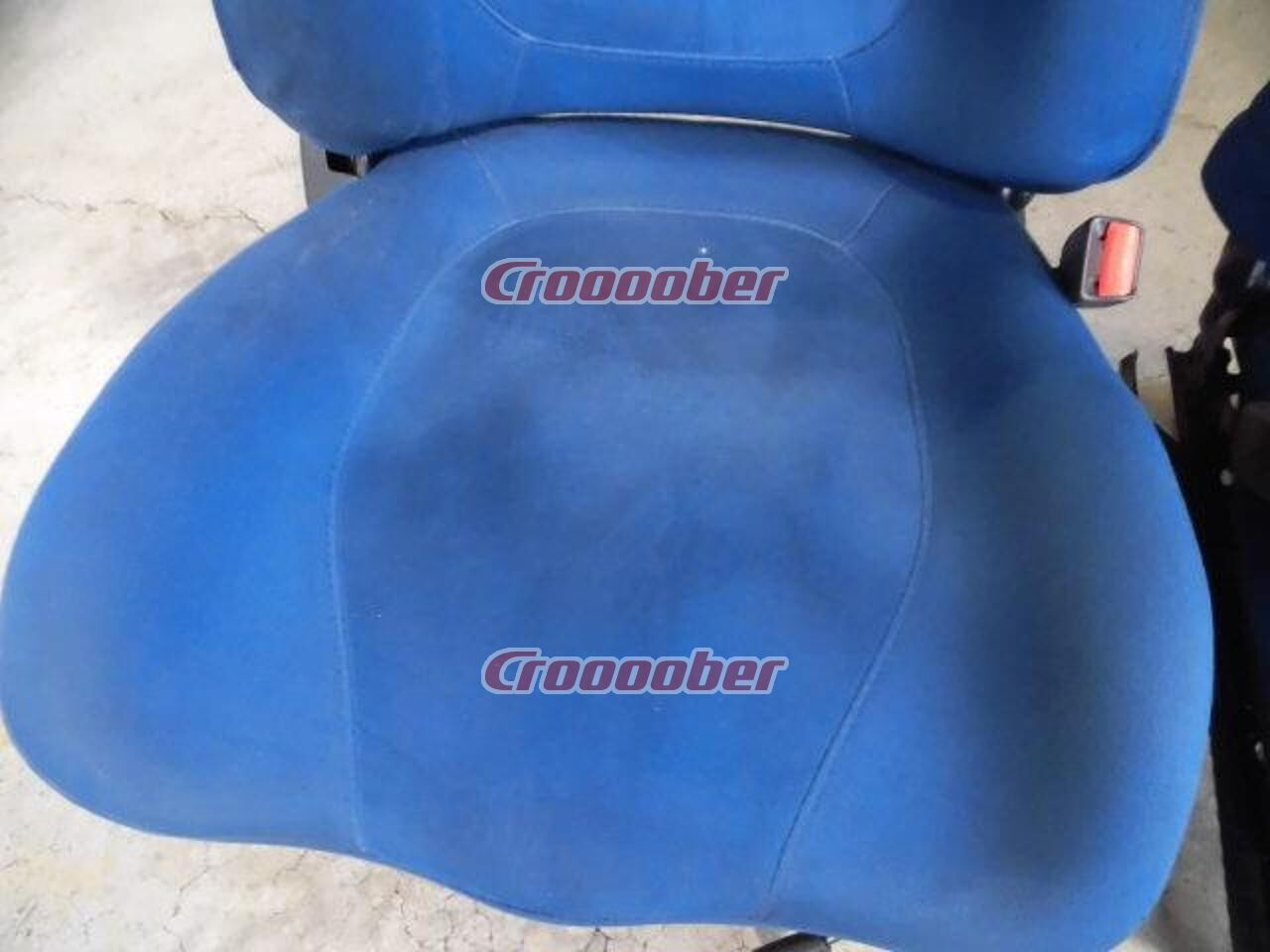 suhasval gc8 impreza wrx sti type ra limited genuine blue seat