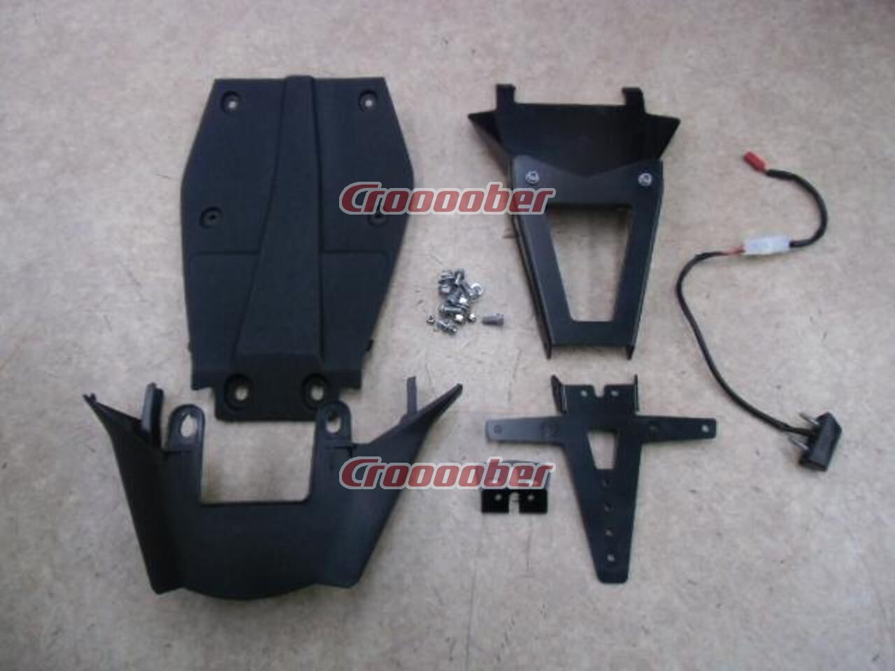 KTM Power Parts License Plate Holder Kit DUKE | Fenders | Croooober ...