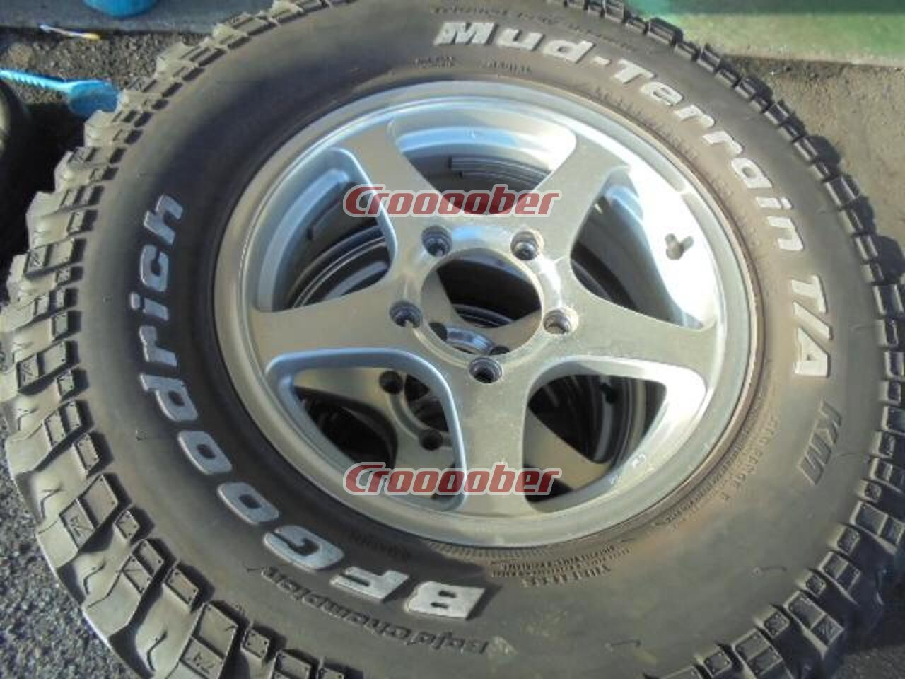 245 75 16 >> Unknown Manufacturer 5 Spoke Bf Goodrich T A Km 245 75 16 120 116q Set Of 4 5 5jx16 20139 7 5h For Sale Croooober