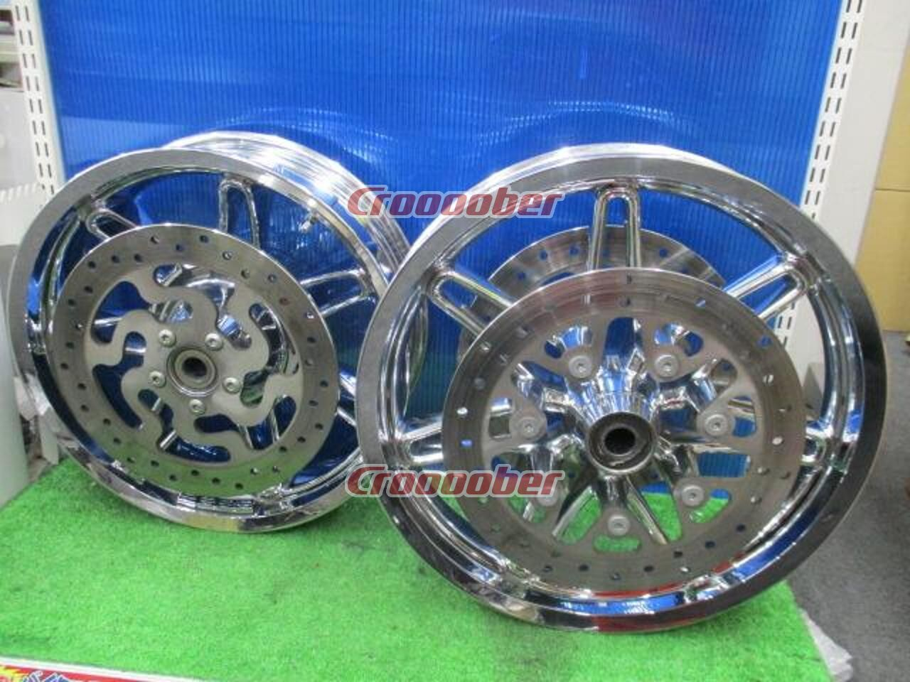 Used Harley Davidson Wheels >> Harley Harley Davidson Cvo Wheel Front And Rear Set Ultra Rims For Sale Croooober