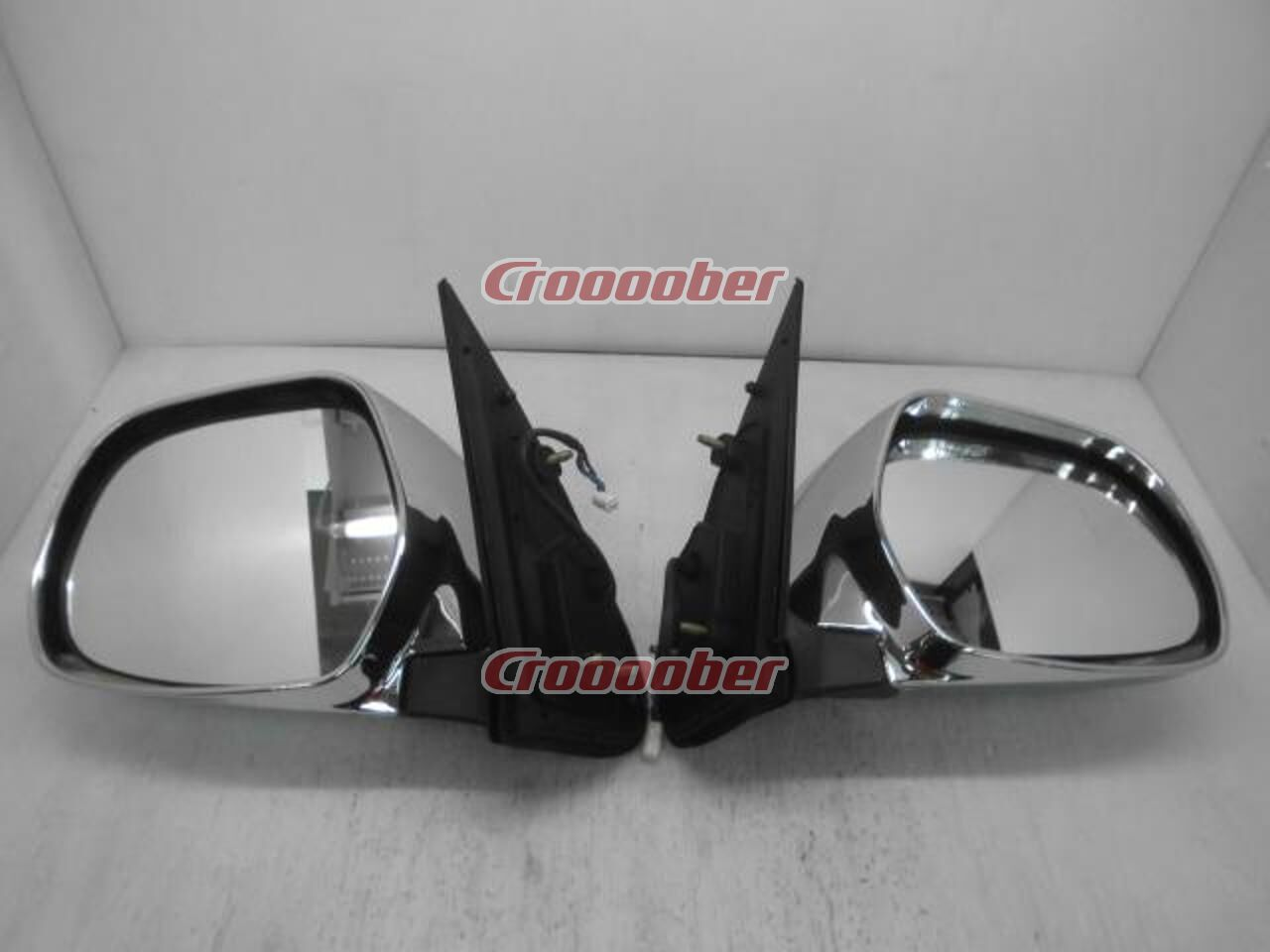 Toyota 200 Series Hiace Super Gl Type 4 Genuine Plated Door Mirror