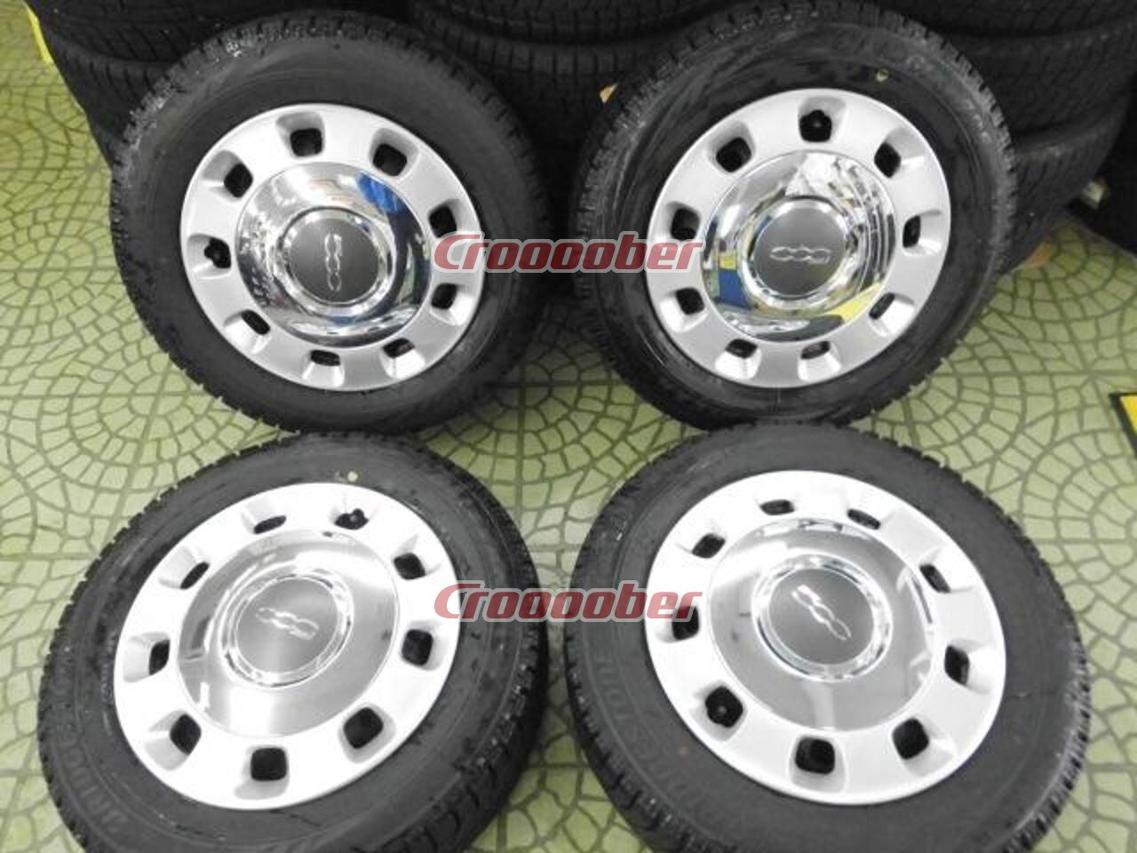 Car Genuine Parts Of Imported Automobile Fiat 500 Pure Steel Wheel