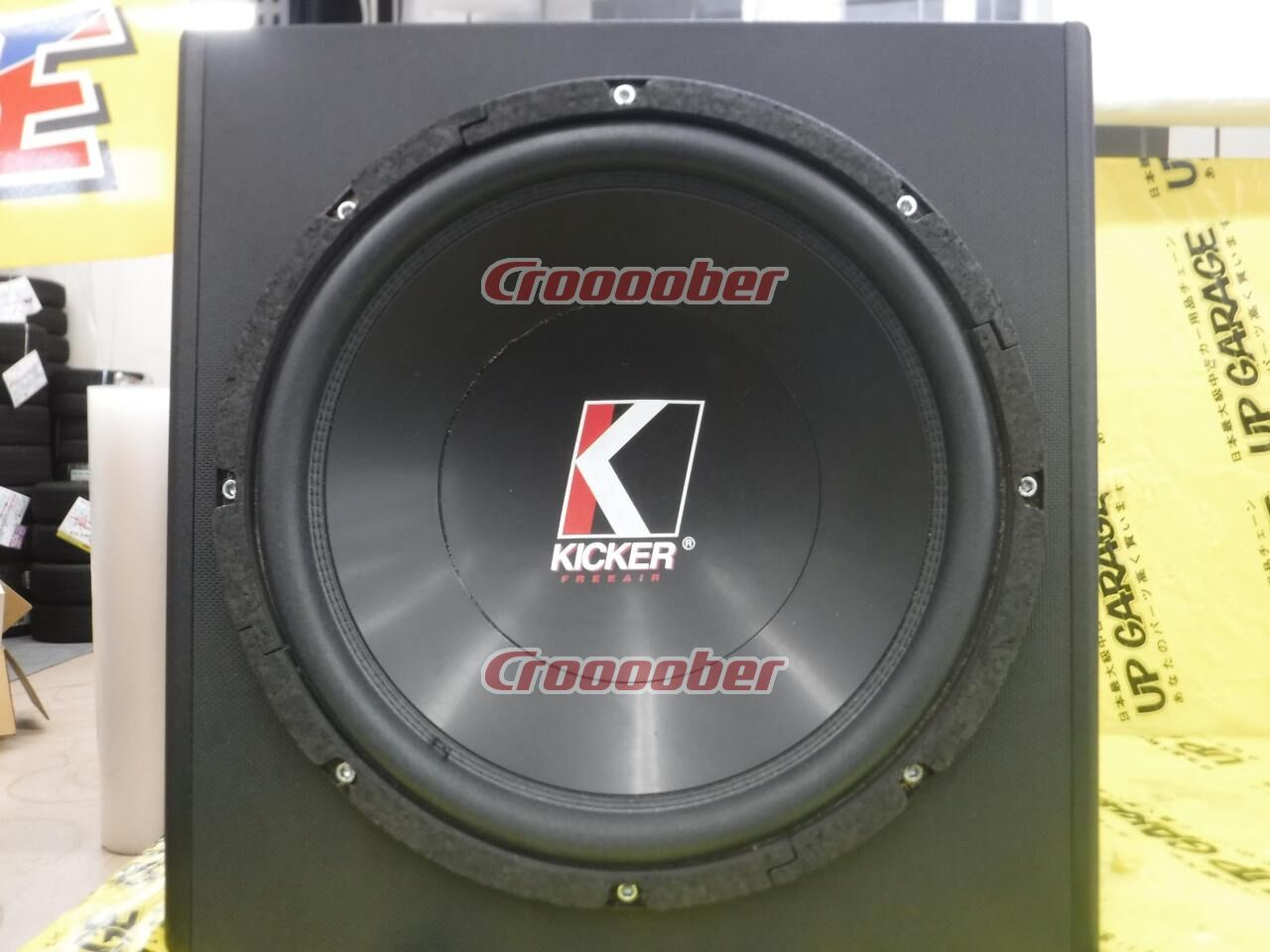 Kicker Freeair 12c Brace Pl 027 Enclosure 12 Inch Sub Woofer With Box Croooober