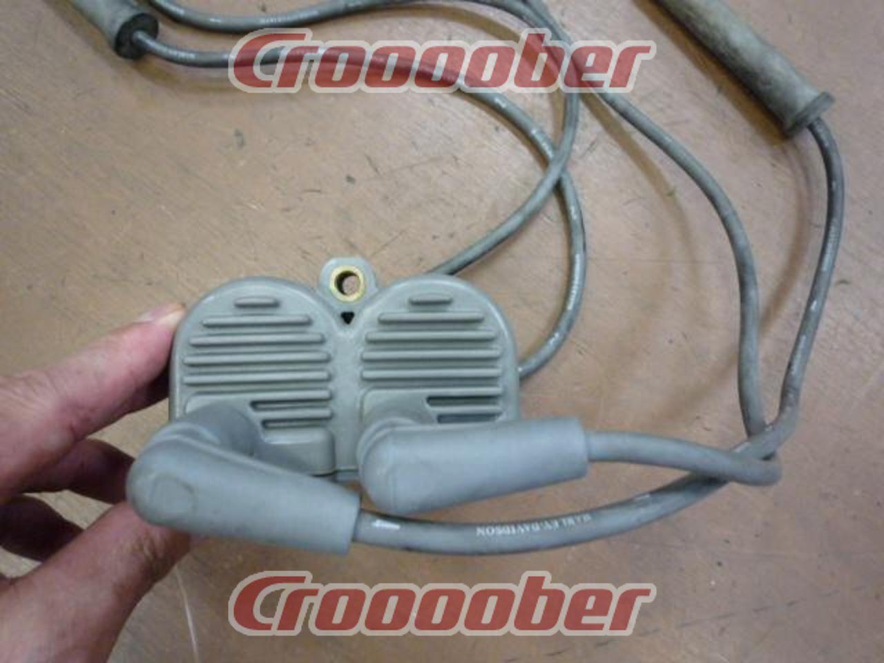 Harley-Davidson Genuine Ignition Coil / Plug Cap Set XL 1200 S 2002 ...