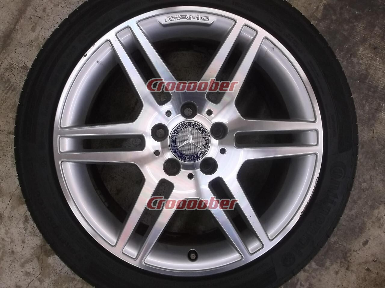 Mercedes Benz Rims >> Mercedes Benz W204 C Class Amg Sport Package Original Wheel Continental Contisportcontact Five Difference Year Of Manufacture Front 7 5jx17 47