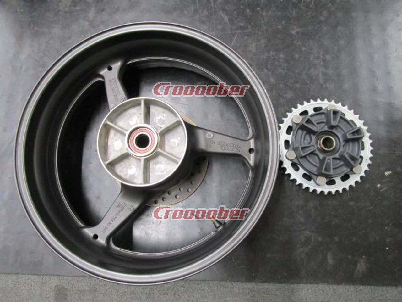Honda Genuine Rear Wheel Cbr600rr 2005 Removal Rims For Sale Croooober