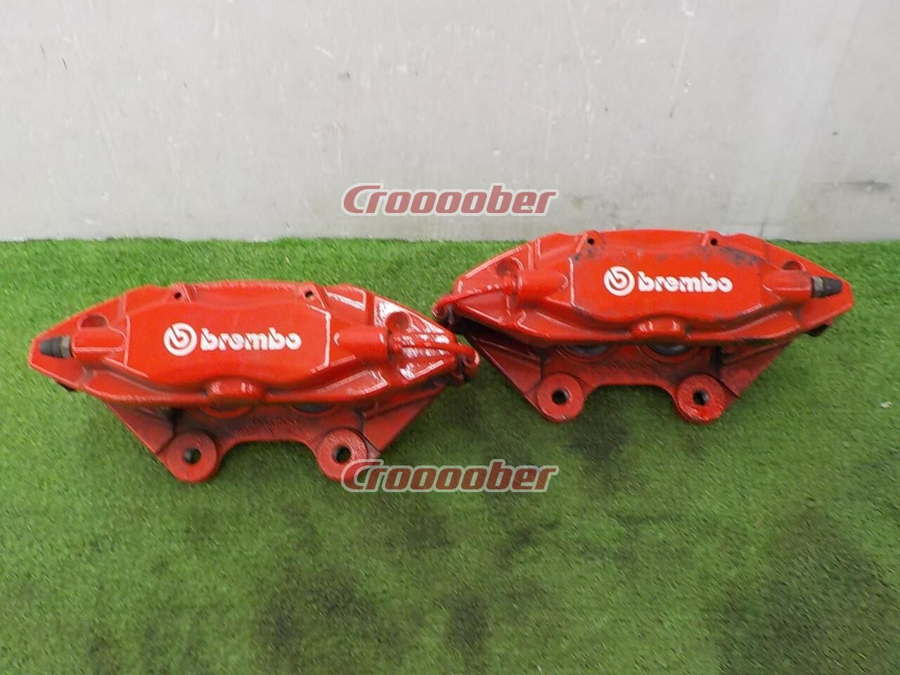 Chrysler Jeep Grand Cherokee Genuine 4pot Brembo Caliper Calipers Croooober