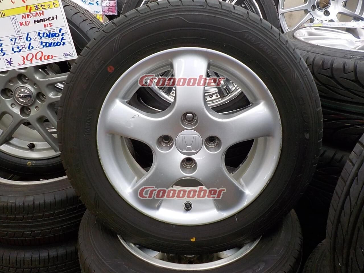 Original Honda Fit Gd Type Genuine Wheel Goodyear Eagle Ls Exe Manufactured Tire In 2017
