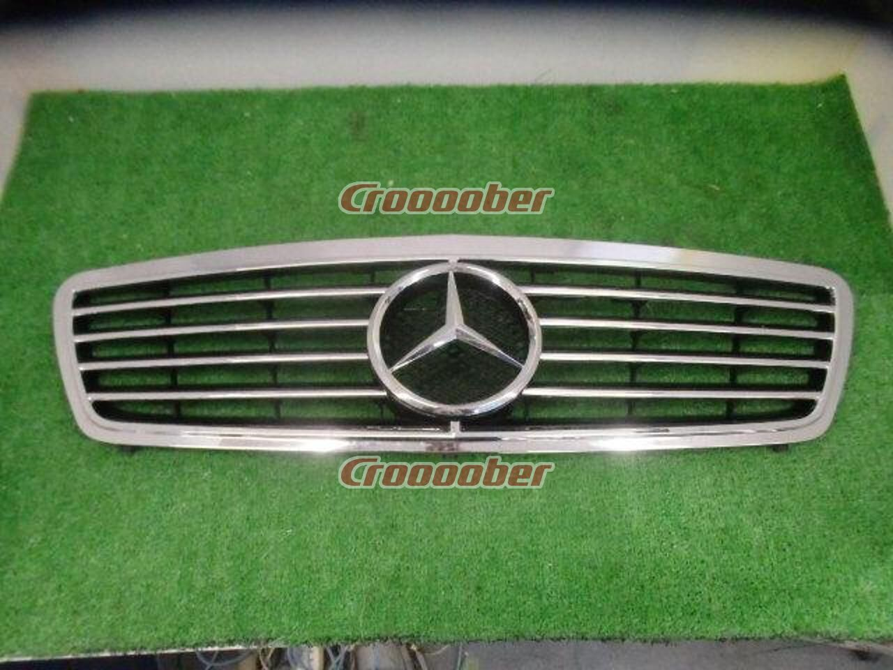 mercedes benz w203 previous period grill with plating. Black Bedroom Furniture Sets. Home Design Ideas