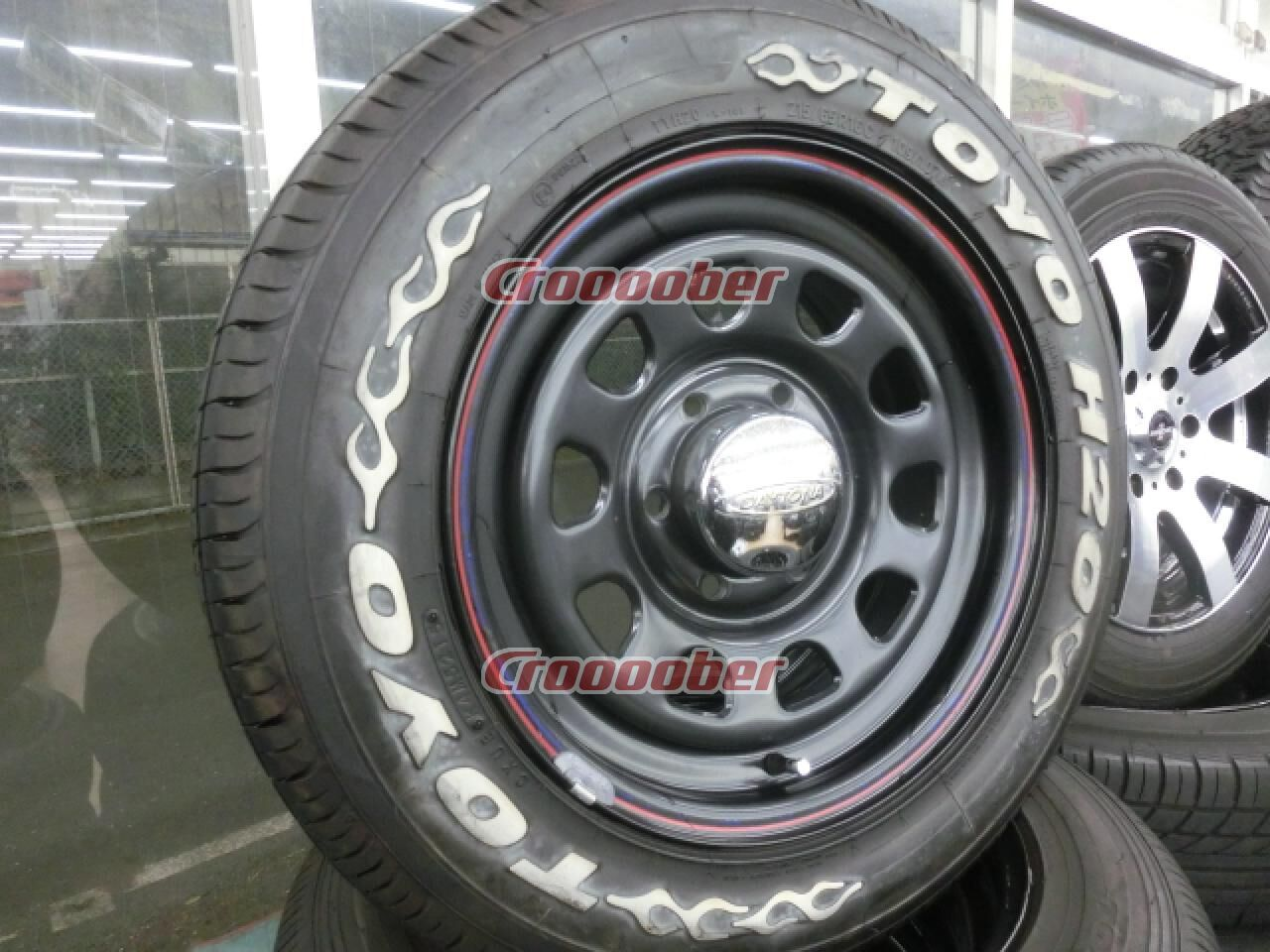 Toyo Tires White Letters >> Ss Daytona Esuesu Toyo H20 White Letter Tire 6 0jx16 38139 7 6h For Sale Croooober