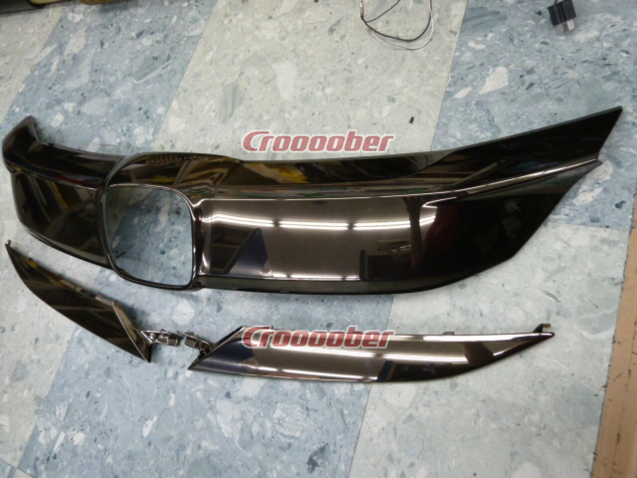 Honda Genuine Front Grille 71122 - - - 1/71168 - - - 1/7116- T 7 A - J 0- M  1 / RU 4 Wesel Hybrid RS Later 3/3