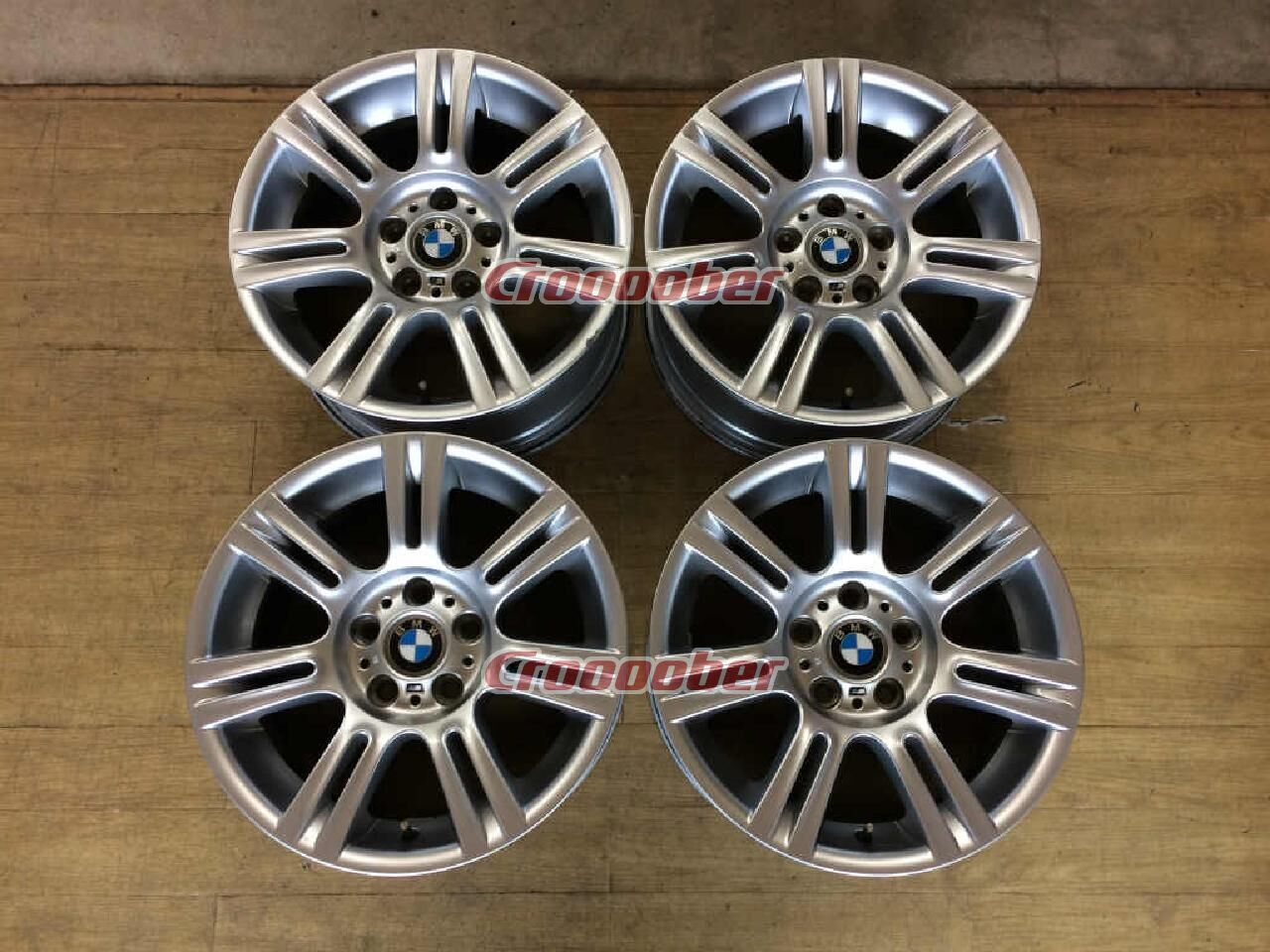 Bmw E90 M Sports Genuine 17 Inches Aluminum Wheels Four Front 8 0jx17 34 Rear 8 5jx17 37120 5h For Sale Croooober