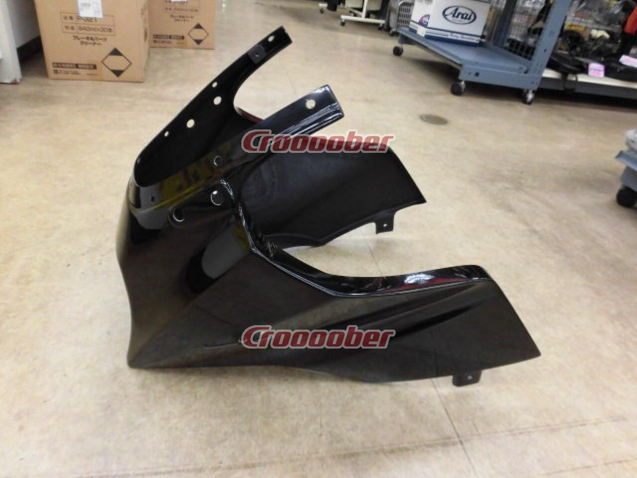 magical racing frp upper cowl part number 001 gpz990 2101