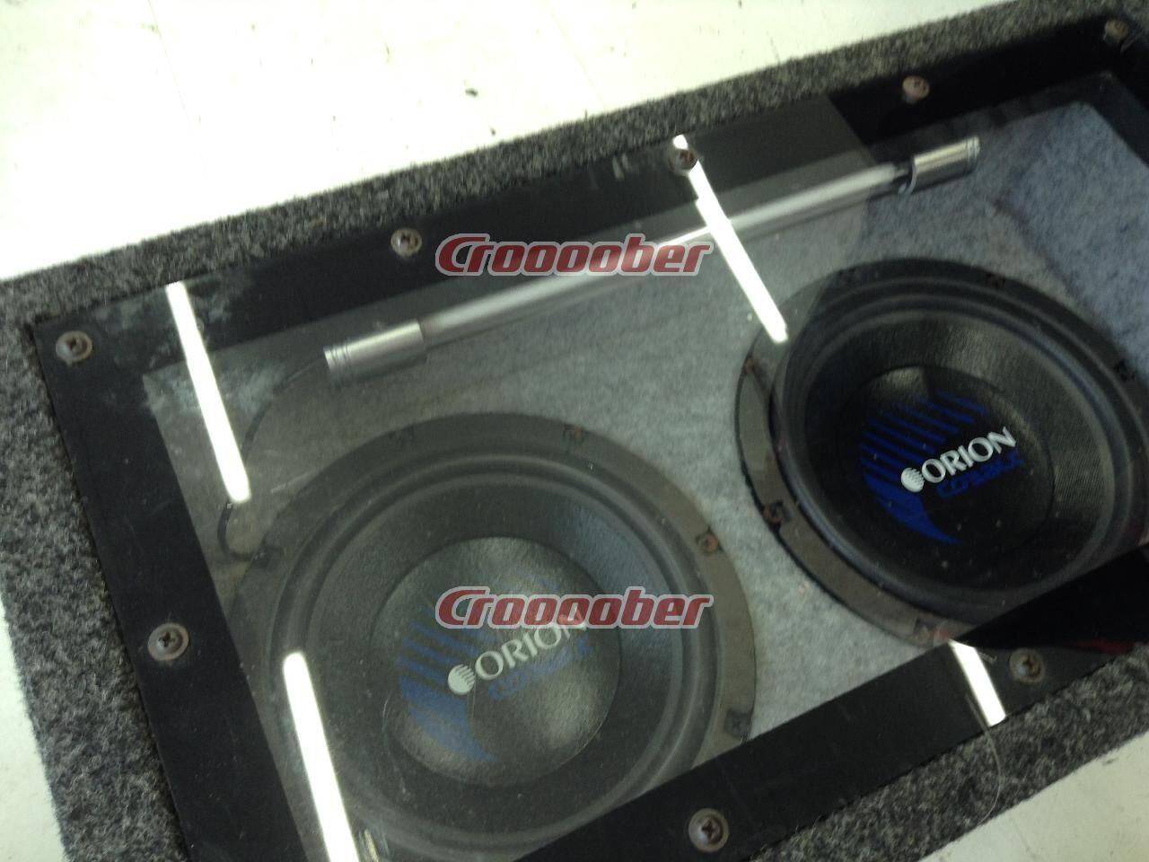 Orion 8 Inch Subwoofer Box Included Sub Woofer Speakers Croooober
