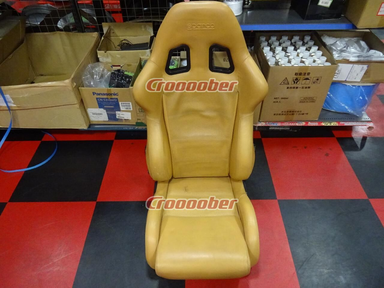 Sparco Reclining Leather Seat Model Unknown Reclining Seats Others Croooober