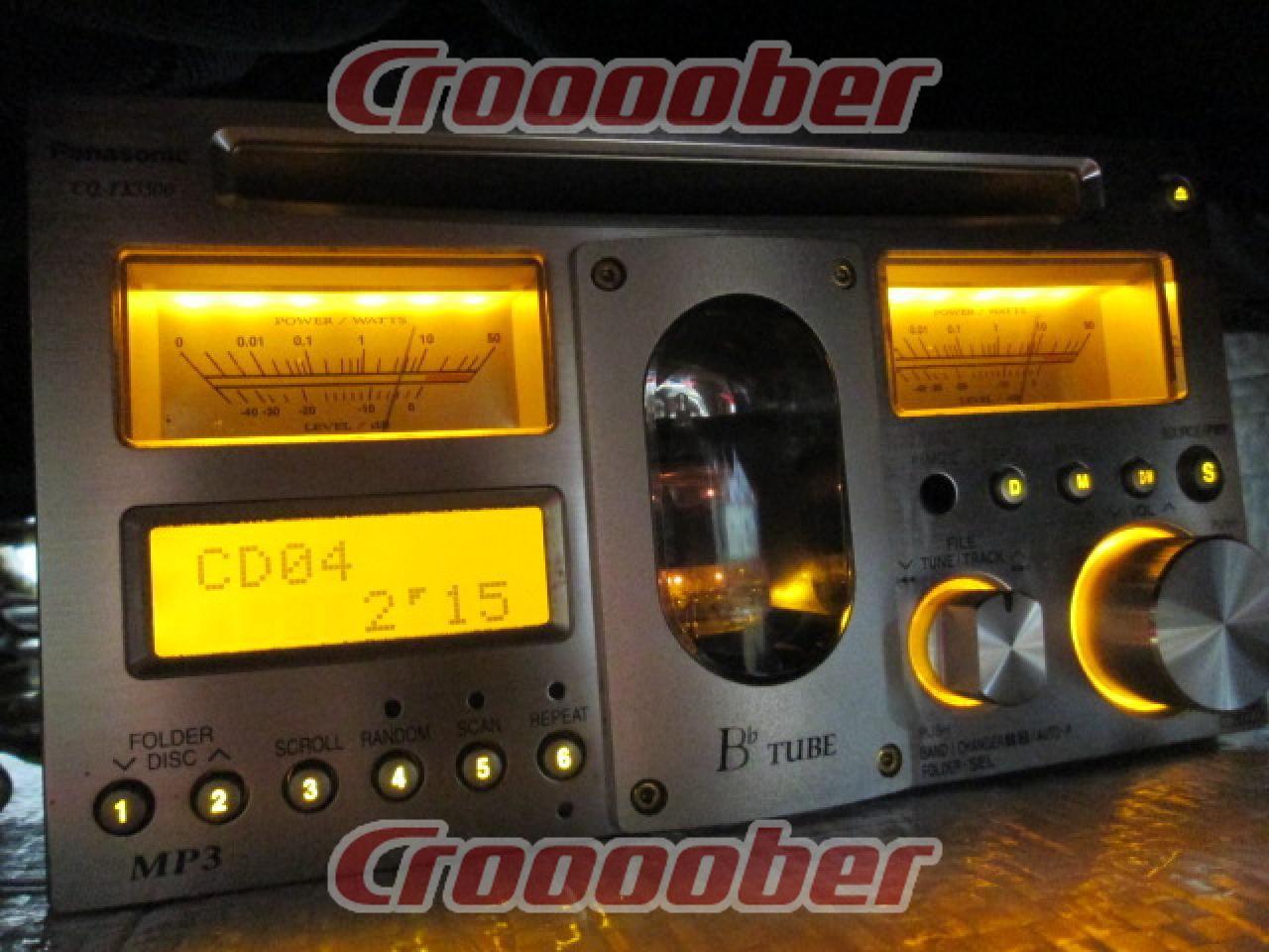 d949b19c7eb  Rare  Panasonic CQ-TX5500 Vacuum Tube High-end Audio