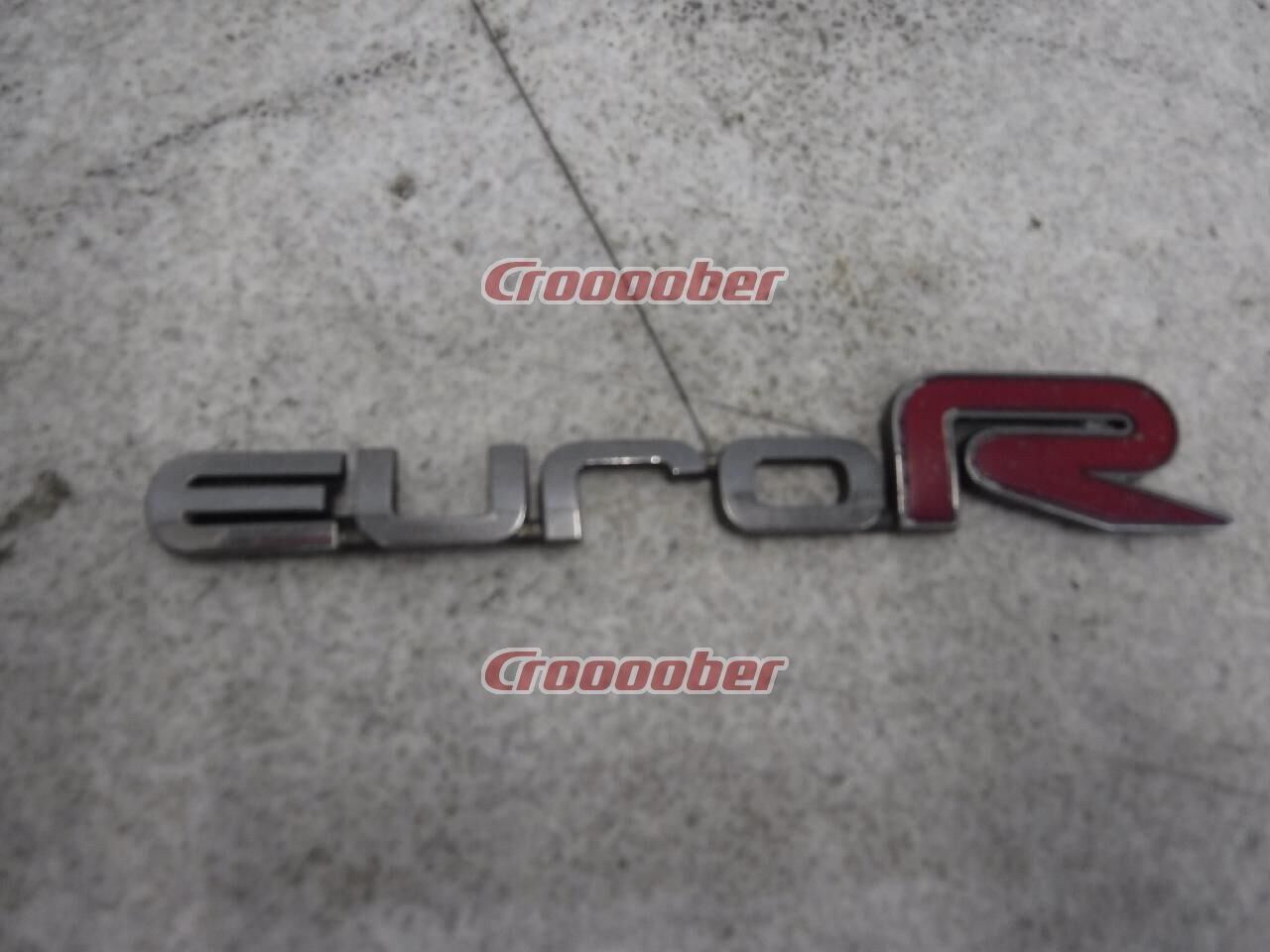 Honda Genuine Rear Emblem Accord Euro R Cl7 Other Dressup Parts