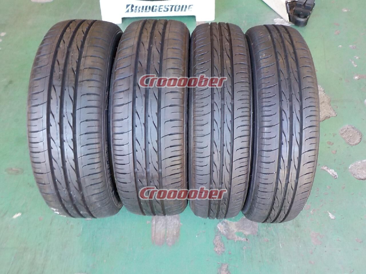 Container 1 Dunlop Enasave Ec203 Four Pairs Of Front And Rear Size