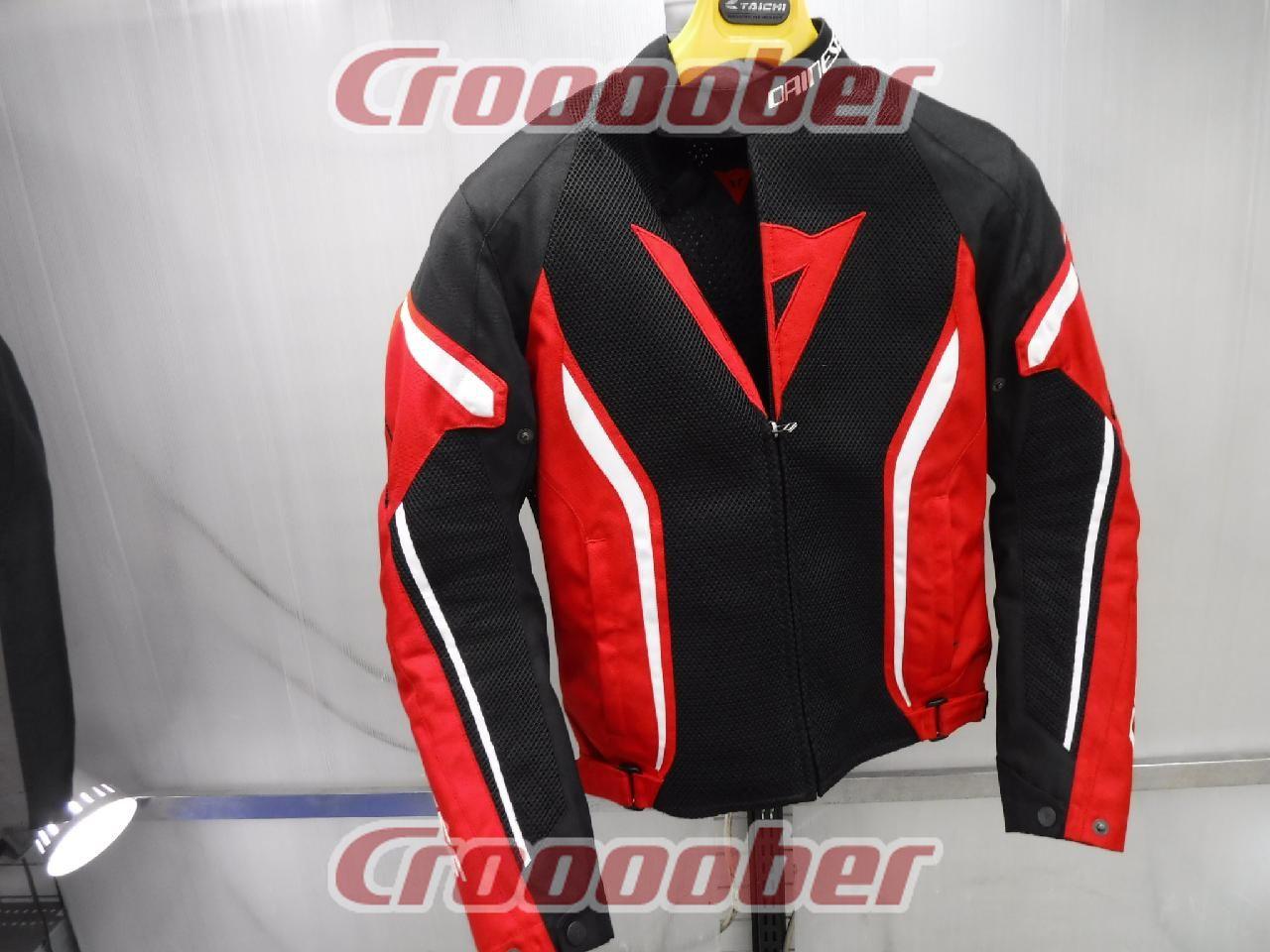 サイズ 44 Dainese ダイネーゼ Air Crono 2 Tex Jacket ブラック レッド