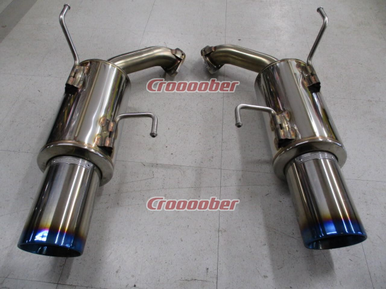 GANADOR Ganadoru Vertex Sports VRE-040 Stainless Steel / Tail Only Titanium  Coloring | Exhaust Systems | Croooober