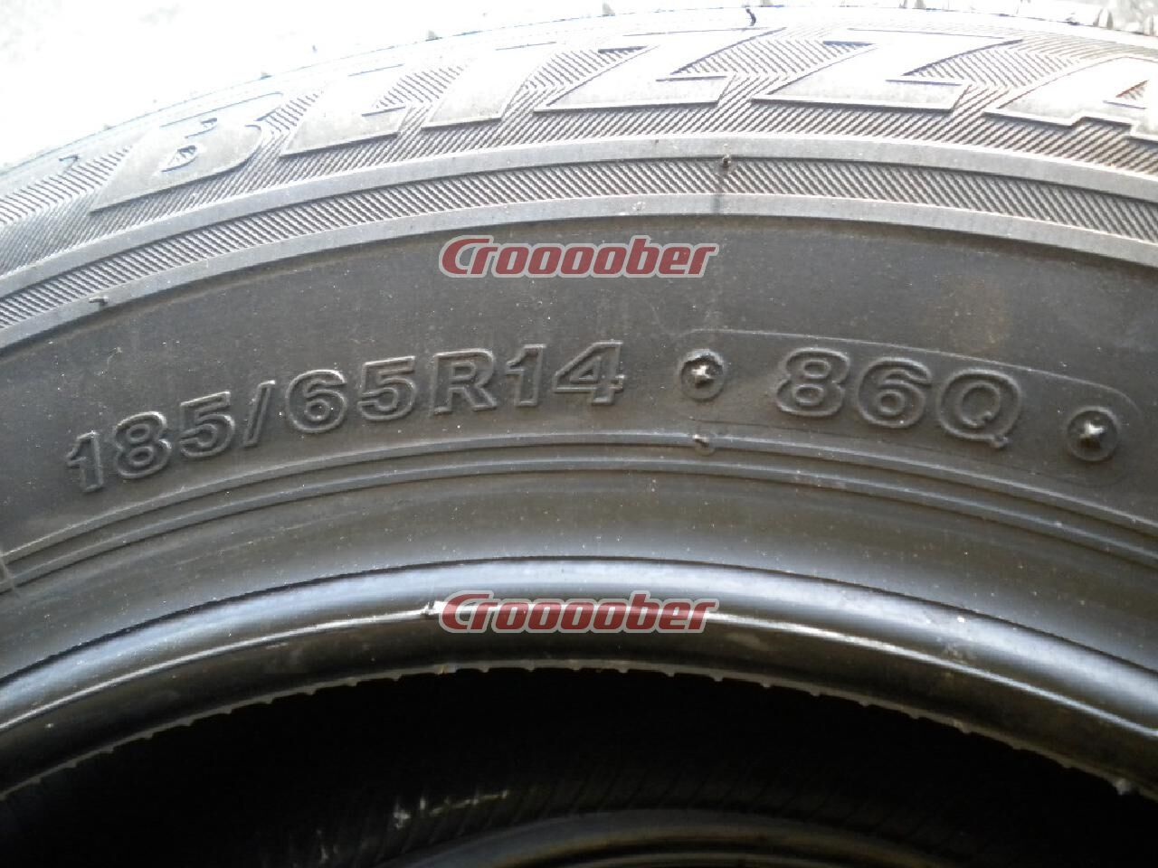 BRIDGESTONE REVO GZ | 14 Inch Studless Tire | Croooober