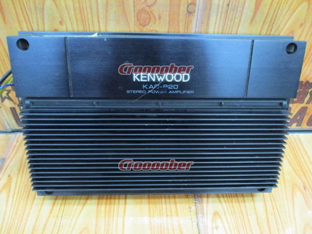 Kenwood Kac 820 Amplifier Croooober