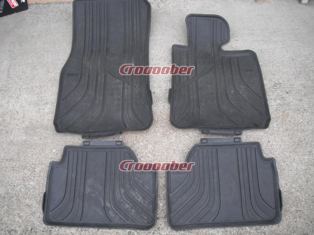 Bmw 1 Series F20 Genuine Option Rubber Floor Mat Interior Accessories Croooober