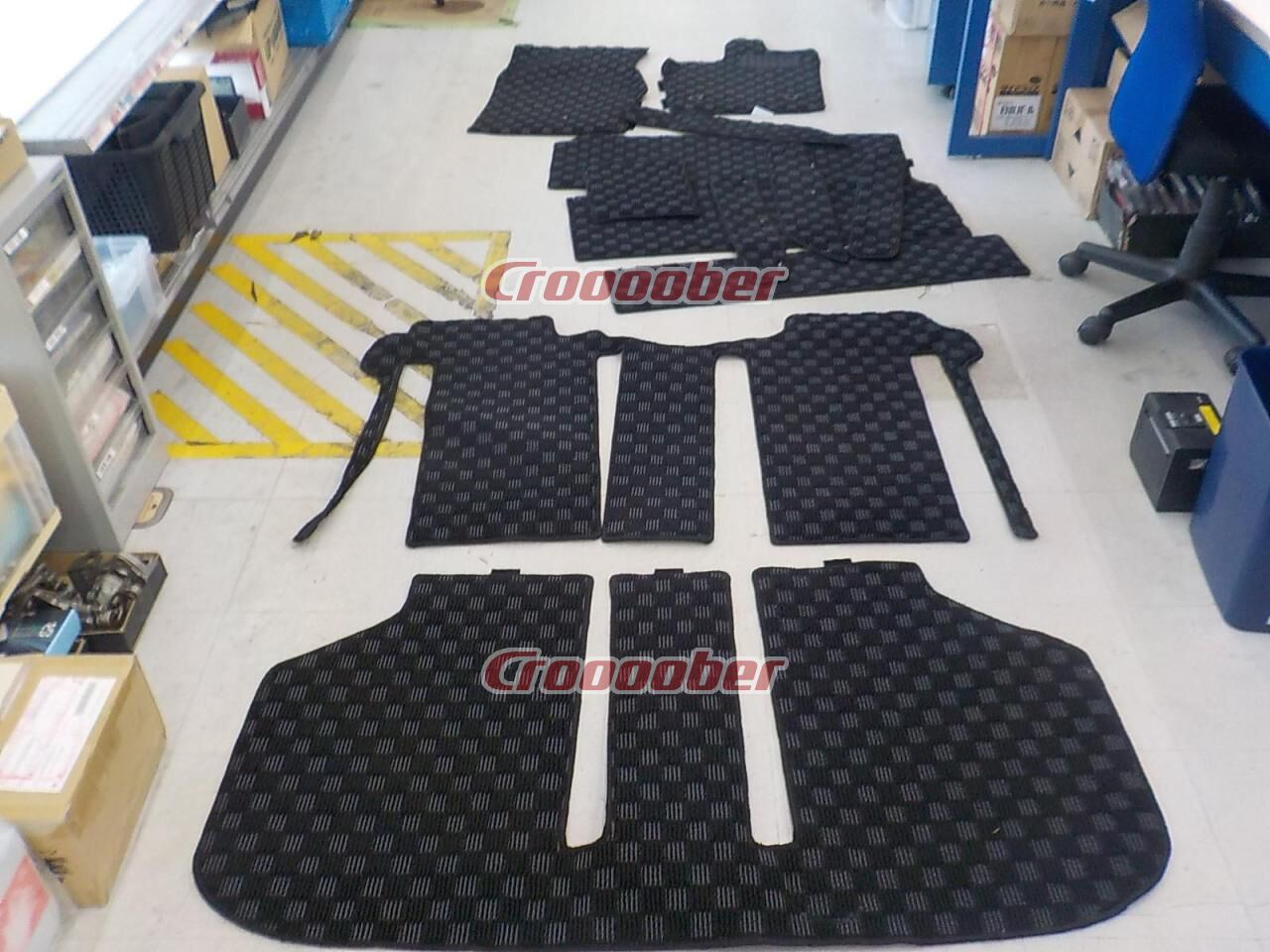 Floor Mat 20 Alphard Late 7-seater