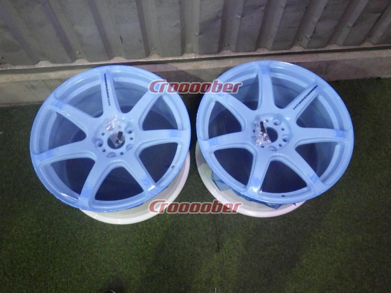 Only Unused Wheels Work Emotion T7r White 9 5jx18 30114 3 5h For Sale Croooober