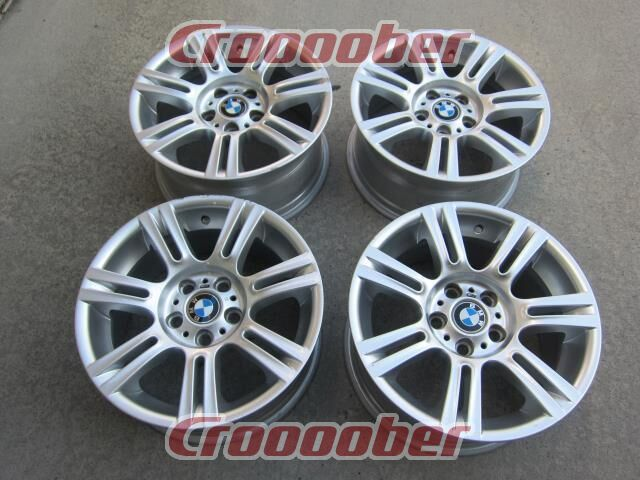 Imported Car Genuine BMW 3 Series 90 / E 92 Silver - Front:8.0Jx17+34 Rear:8.5Jx17+37120-5H for Sale | Croooober Japan