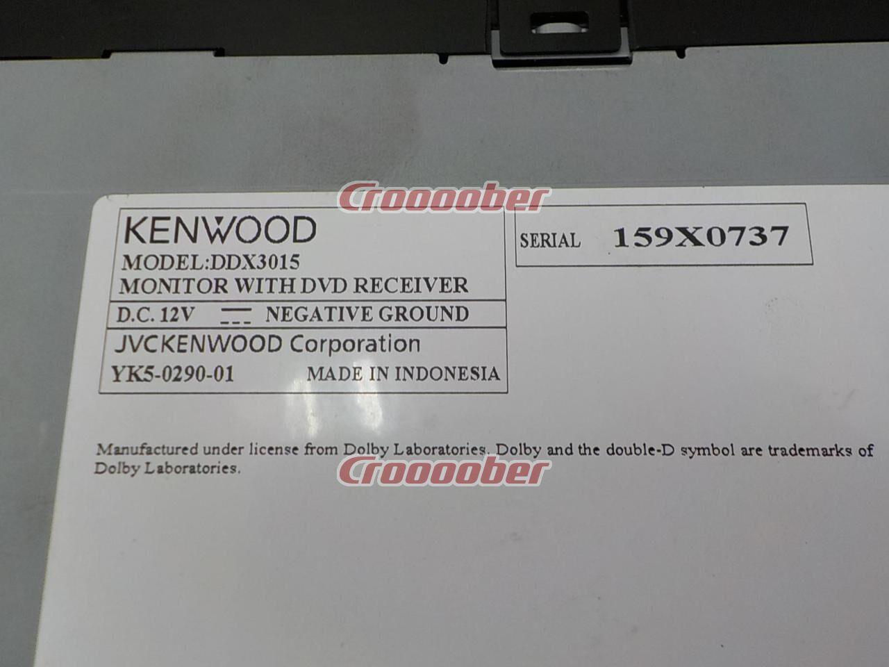 KENWOOD DDX3015 【Fluent In Various Images With Definition, High Image  Quality To Your Heartu0027s Content】 U002714 ...