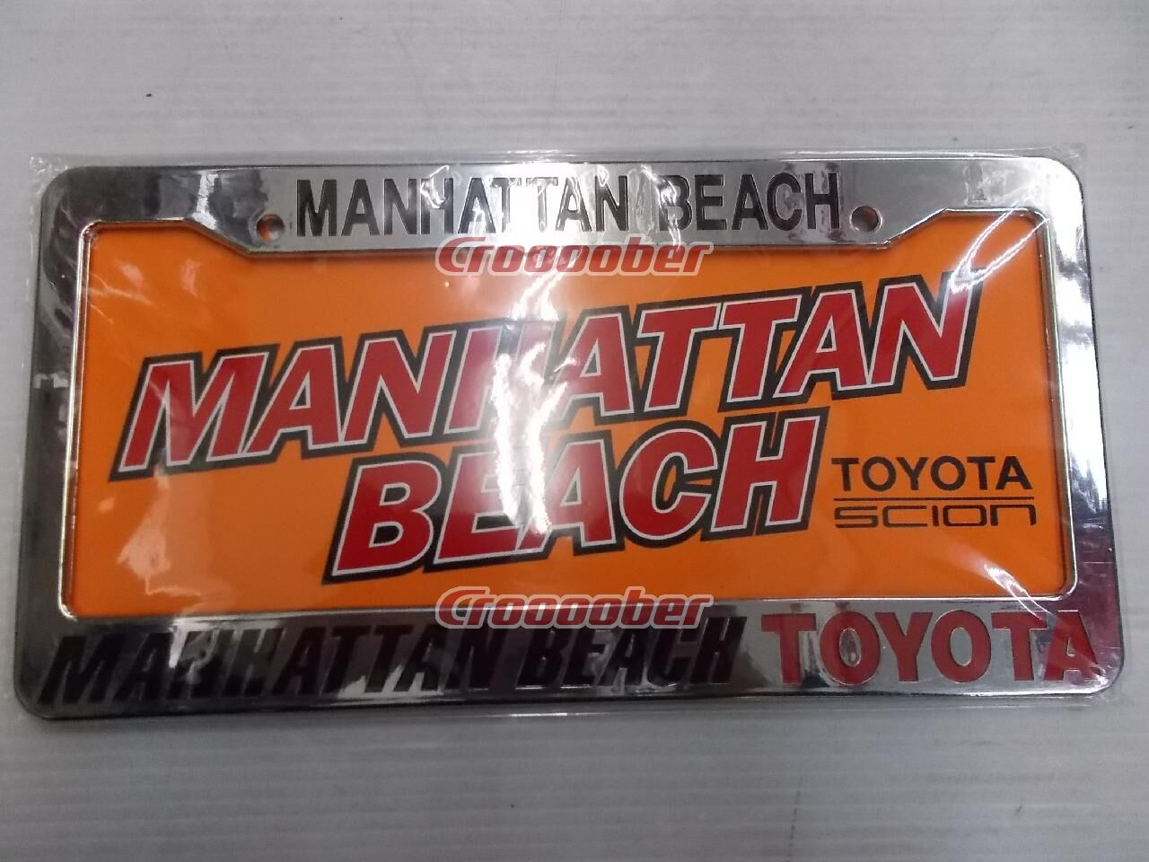 Dealer License Frame MANHATTAN BEACH TOYOTA US Number Sizes | Accessories |  Croooober